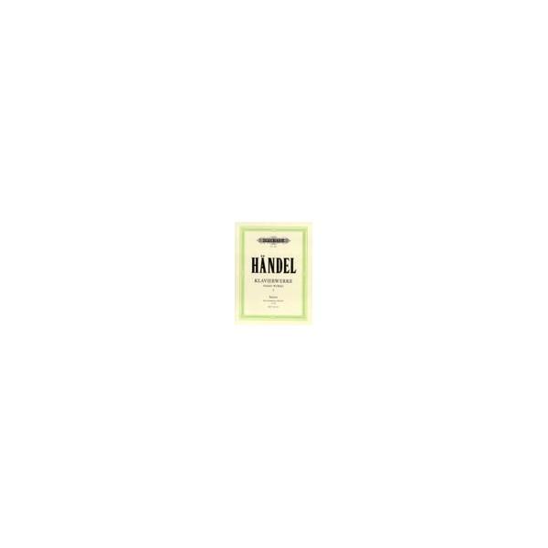 Handel, George Friederich - Keyboard Works Vol.1