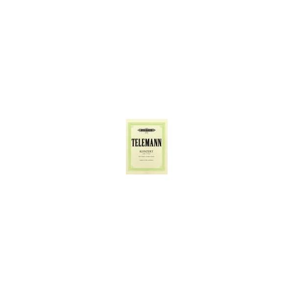 Telemann, Georg Philipp - Oboe Concerto in F minor