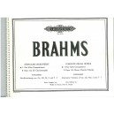 Brahms, Johannes - Organ Works (Complete), in 2 volumes, Vol.1