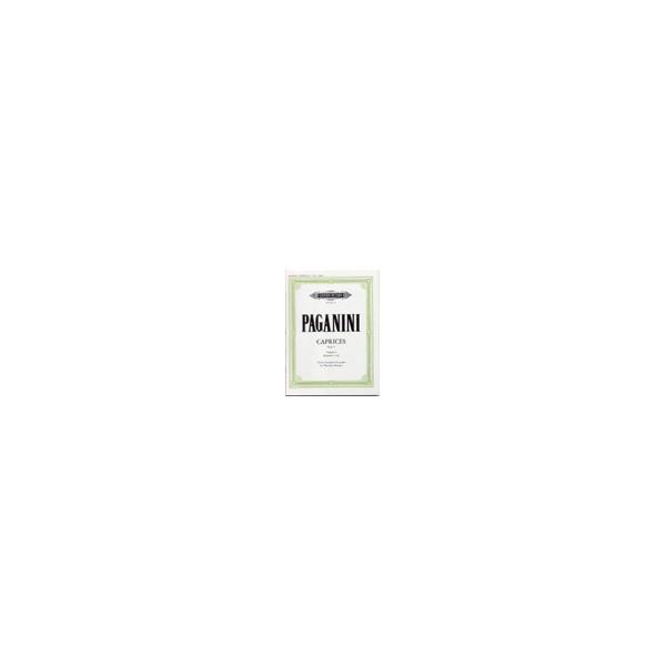 Paganini, Nicolo - Caprices Op.1 Vol.1