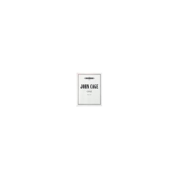 Cage, John - One