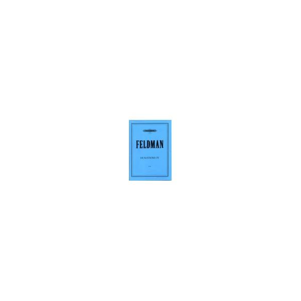 Feldman, Morton - Durations IV