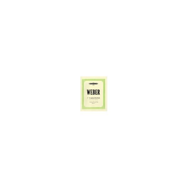 Weber, Carl Maria von - 7 Variations in B flat Op.33