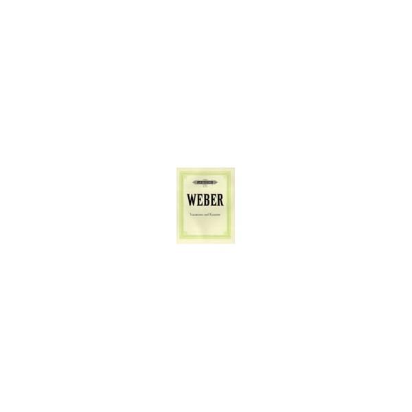 Weber, Carl Maria von - Complete Piano Works Vol.3: Variations & Concertos