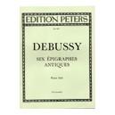 Debussy, Claude - 6 Epigraphes antiques