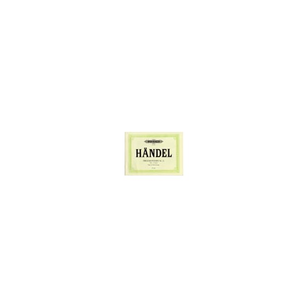 Handel, George Friederich - Organ Concerto No.13 in F