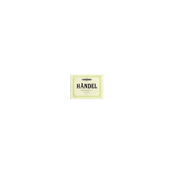 Handel, George Friederich - Organ Concerto No.14 in A