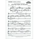 Rutter, John - All things bright and beautiful (SATB)