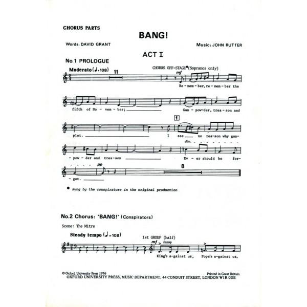 Bang! - Rutter, John