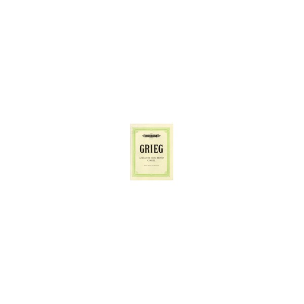 Grieg, Edvard - Andante con Moto in C minor