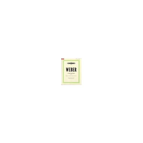 Weber, Carl Maria von - Concertino in E flat Op.26