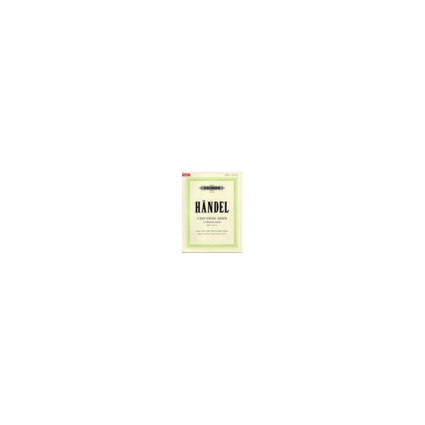 Handel, George Friederich - 9 German Arias HWV 202-210