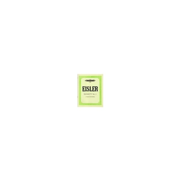 Eisler, Hanns - Nonet No.1 (Variations)