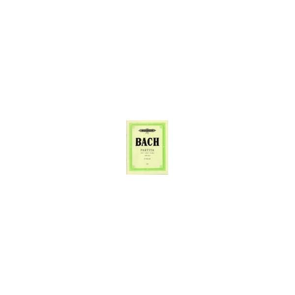 Bach, Johann Sebastian - Partita in a minor (Sonata) BWV 1013