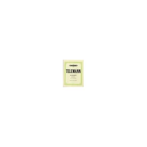 Telemann, Georg Philipp - Concerto in B flat Pisendel Concerto