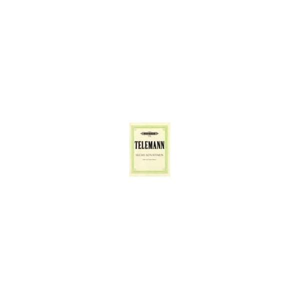 Telemann, Georg Philipp - 6 Sonatinas