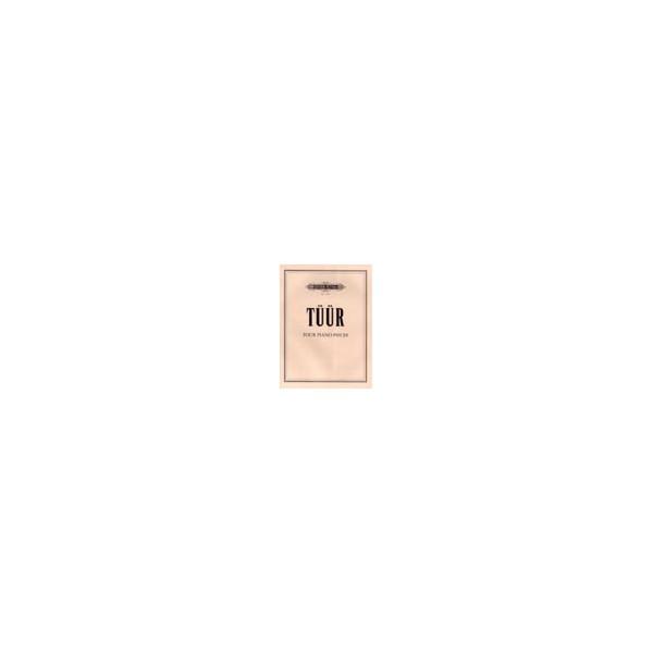 Tüür, Erkki-Sven - Four Piano Pieces