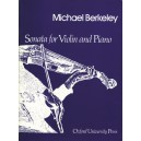 Sonata for violin and piano - Berkeley, Michael