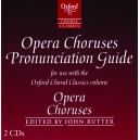 Opera Choruses pronunciation guide CD - Rutter, John