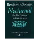 Britten, Benjamin - Nocturnal after John Dowland (guitar)