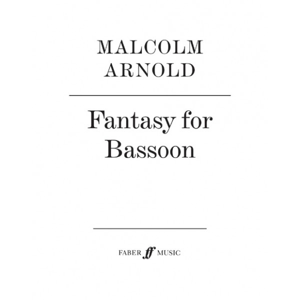 Arnold, Malcolm - Fantasy for Bassoon
