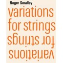 Smalley, Roger - Variations for strings (score)