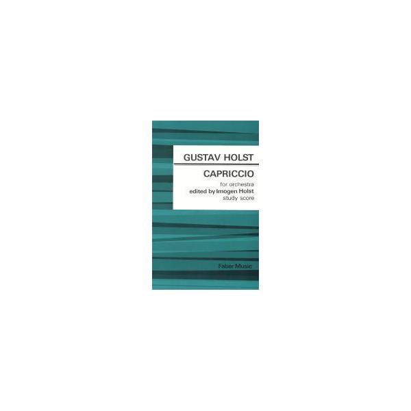 Holst, Gustav - Capriccio (study score)