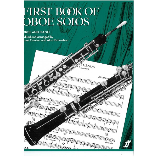 Craxton, J - First Book of Oboe Solos (oboe part)