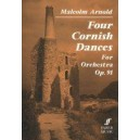 Arnold, Malcolm - Four Cornish Dances (study score)