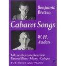 Britten, Benjamin - Cabaret Songs (medium voice and piano)