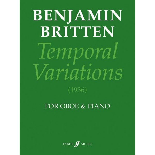 Britten, Benjamin - Temporal Variations (oboe and piano)