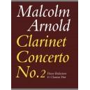 Arnold, Malcolm - Clarinet Concerto No.2 (clarinet & pno)