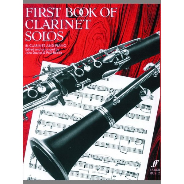 Davies, J - First Book of Clarinet Solos (complete)