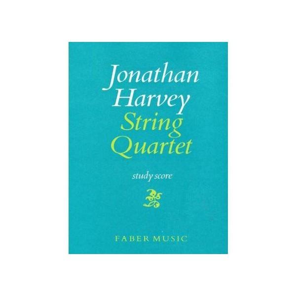 Harvey, Jonathan - String Quartet No.1 (score)