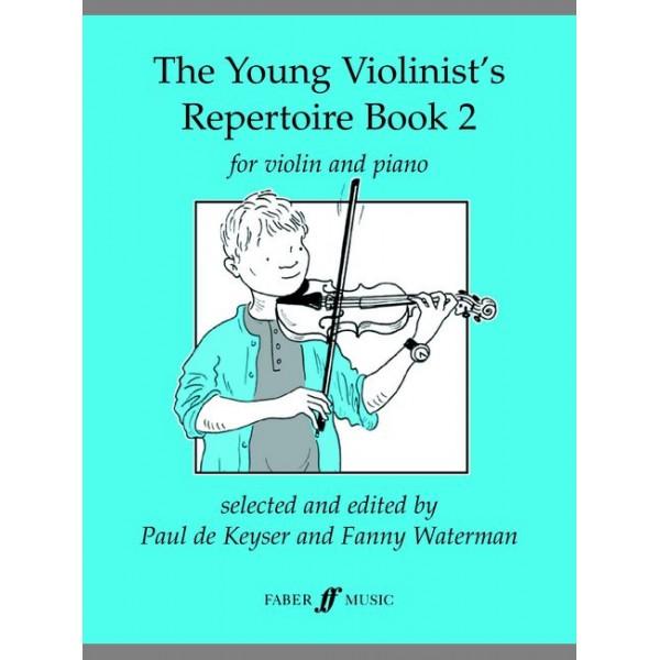 De Keyser, Paul - Young Violinists Rep.Bk. 2 (vln & pno)