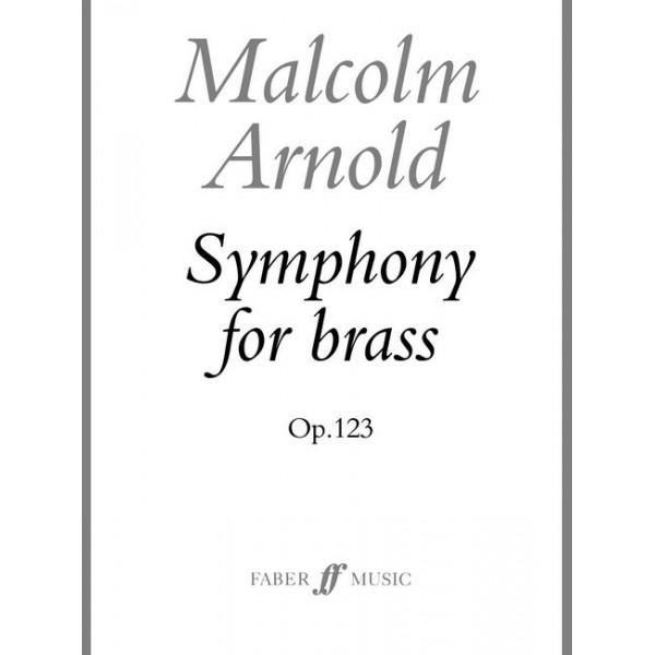 Arnold, Malcolm - Symphony for Brass (score)