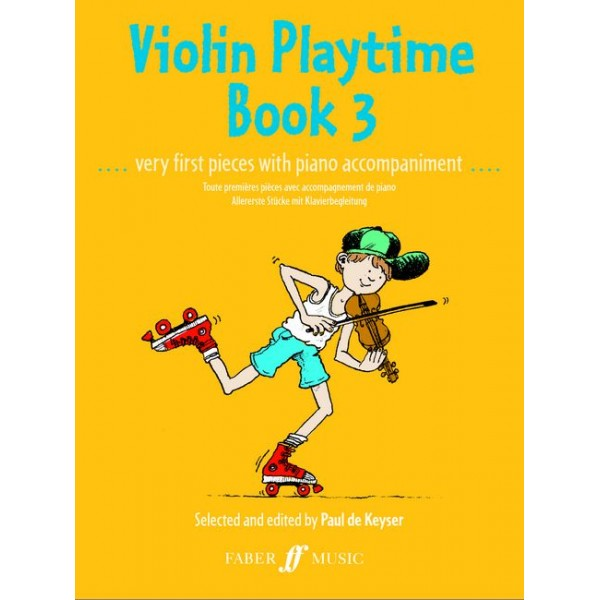 De Keyser, Paul - Violin Playtime 3 (violin and piano)
