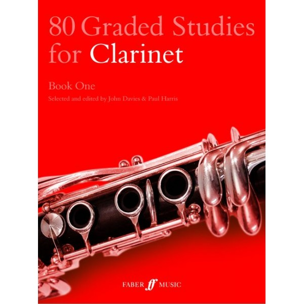 Davies, J - 80 Graded Studies for Clarinet. Book 1