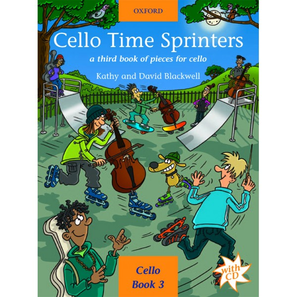 Cello Time Sprinters + CD - Blackwell, Kathy  Blackwell, David