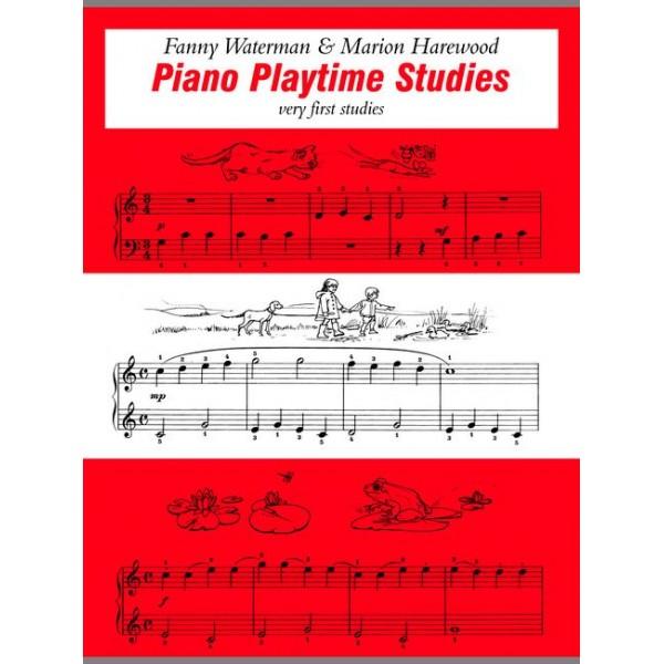 Waterman, F - Piano Playtime Studies