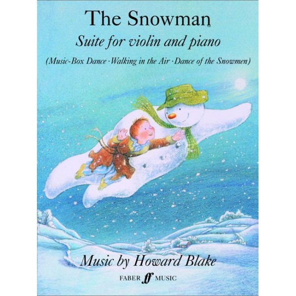 Blake, Howard - Snowman Suite, The (violin and piano)