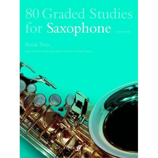 Davies, J - 80 Graded Studies for Saxophone. Book 2