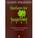 Knussen, Oliver - Fanfares for Tanglewood (brass ensemble)