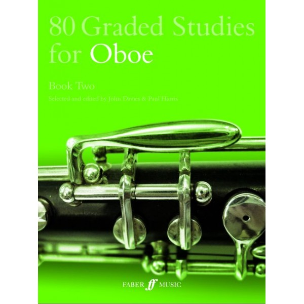 Davies, J - 80 Graded Studies for Oboe. Book 2