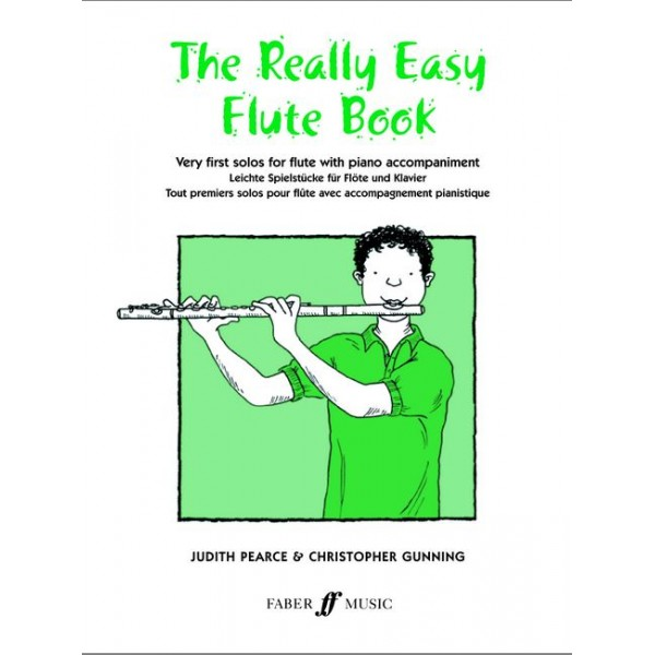Pearce, J - Really Easy Flute Book (with piano)