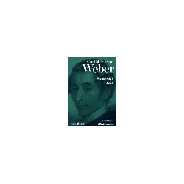 Weber, Carl Maria von - Mass in E flat (vocal score)