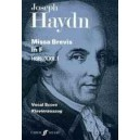Haydn, F J - Missa Brevis in F (vocal score)
