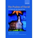 "The Psalms of David: 24 Psalms for the Churchs Year - Sch""utz, Heinrich"