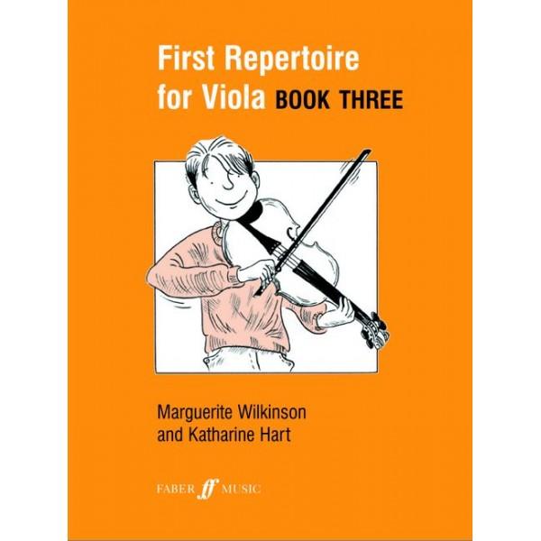 Wilkinson, M - First Repertoire for Viola. Book 3