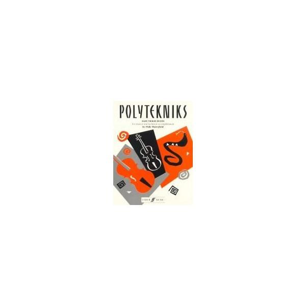 Waterfield, Polly - Polytekniks (easy violin duets)